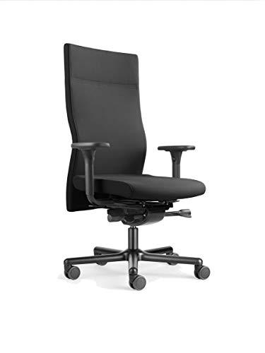 Löffler Lezgo 7450 Bürostuhl, ergonomischer Drehstuhl 3D-Sitztechnologie ErgoTop