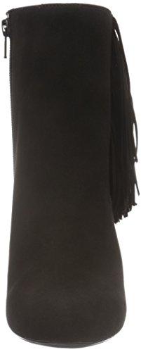 Unisa Damen Pavone_KS Kurzschaft Stiefel Schwarz (Black)