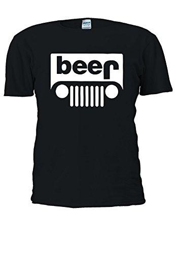 Beer Fashion Tumblr Swag Funny Jeeb Jeep Novelty Men Women Unisex Top T Shirt-5XL