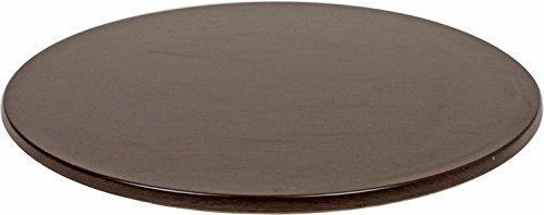 VARILANDO runde Tischplatte aus Werzalit, verschiedene Ausführungen Ø 100 cm (Wenge)