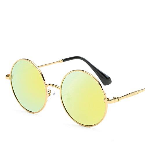 MJ Glasses Sonnenbrillen Polarisierter Retro-Rahmenfilm für Männer und Frauen, E