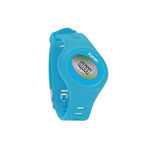 gnc-pro-track-duo-blue-protrack-pt-2600-bluetooth-pedometer-watch-combo-fitness-watch