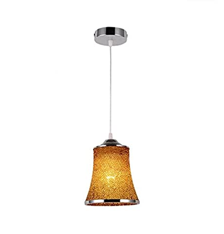 GRFH Modern Fashion Color Chandelier Led Acrylic Creative Restaurant Bar Pendant Lights /Diameter 15Cm , b