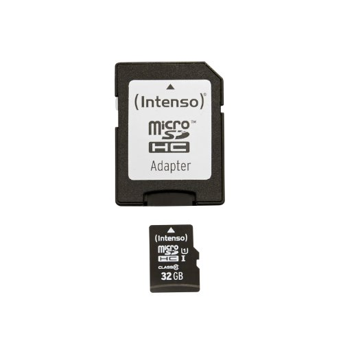 Intenso Micro SDHC 32GB Class 10 Speicherkarte inkl. SD-Adapter (UHS-I)