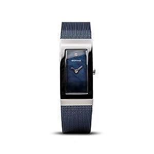 BERING Damen-Armbanduhr Analog Quarz Edelstahl 10817-307