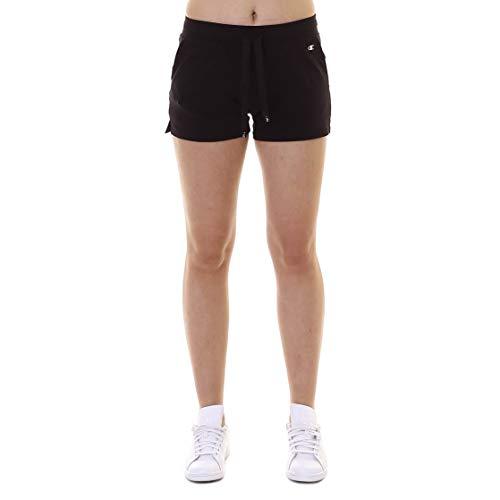 Champion Legacy Damen Shorts Black Beauty schwarz S - Champion Jersey Shorts