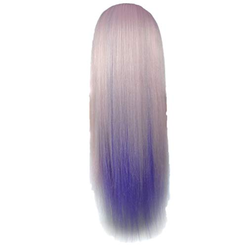 Dorical Buntes Haar/Perücke-Übungs-Ausbildungs-Hauptmannequin-Frisur anredet Haarteil Hairpiece Zopf Pferdeschwanz Diverse Farben