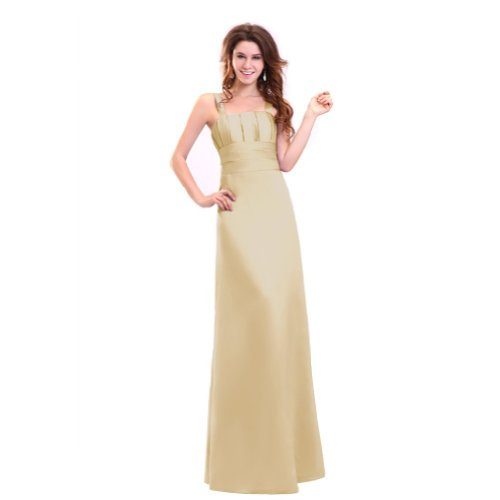Lemandy - Robe -  Femme Custom-made Size Beige - Champagne