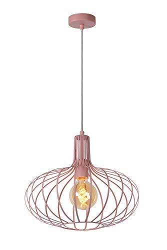 Lucide MERLINA - Pendelleuchten - Ø 38 cm - E27 - Rosa