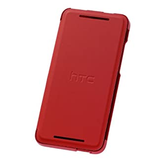 HTC HC V851 Hard Custodia One Mini, Rosso
