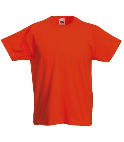 fruit-of-the-loom-kids-childrens-valueweight-t-shirt-orange-9-11-years