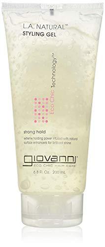 Giovanni Hair Care Products L.A. Starker Halt Natürliches Styling Gel mit Organischen Inhaltsstoffen 201 ml -