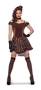 Folat 63405 - Disfraz para mujer, color marrón