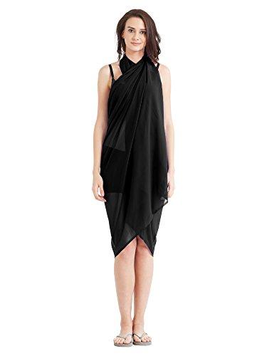 Frauen Beach Wear Wrap Sarong gedruckt Pareo Badeanzug Bikini Cover up vertuschen (Badeanzug Wraps Sarongs)