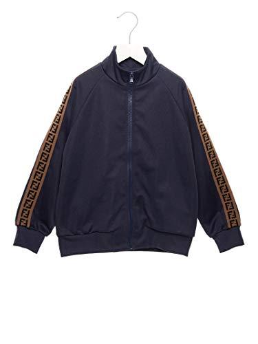 Fendi Jungen Juh002a69df16we Blau Polyester Sweatshirt (Fendi-schuhe Herren Für)