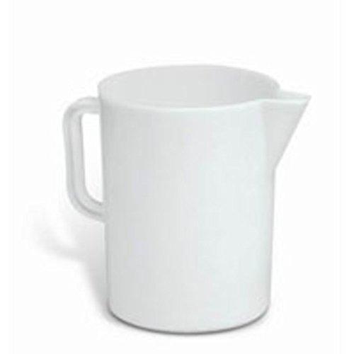Giganplast gig caraffa graduata, 3 litri, polietilene, bianco