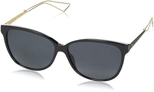 Dior Damen DIORCONFIDENT2 HD QFE Sonnenbrille, Schwarz (Black Rose Gold/Grey Sf), 57