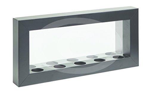 TWC Warenhandel Plus - Garten und mehr Wandhalter Kerzenhalter für Teelicht mit Glas Spiegel Metall...