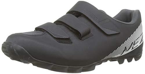 Shimano SH M MTB Me300, Zapatillas de Ciclismo de Carretera para Hombre, Negro (White/Black), 43 EU