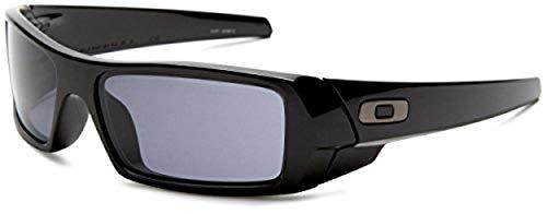 Oakley Herren Sonnenbrille Gascan W Schwarz (Polished Black), 60