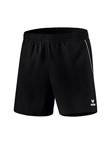 erima Kinder Tischtennis Shorts, Schwarz/Weiß, 164