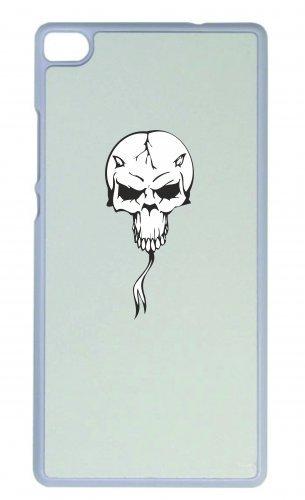 Smartphone Case teschio con corna lingua scheletro rocker Frecce Club Gothic Biker Skull Emo Old School per Apple Iphone 4/4S, 5/5S, 5C, 6/6S, 7& Samsung Galaxy S4, S5, S6, S6Edge,
