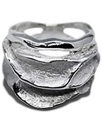 f57a6302884f Anillo para mujer de plata de ley 925 con diseño único s0651