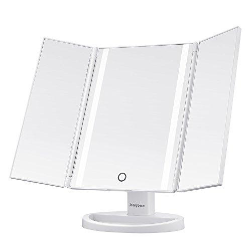 jerrybox-miroir-triptyque-de-maquillage-eclairage-naturel-16-led-ecran-tactile-rechargeable-via-port