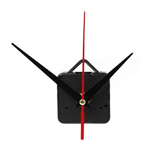 Elyseesen Mécanisme de mouvement d'horloge de quartz avec le crochet DIY répare des pièces 6 modèles (C)