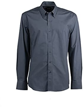 Camicia classica Coveri Collection grigia