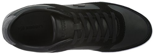 Lacoste Herren Court-Minimal 316 1 Low-Top Schwarz (BLK 024)