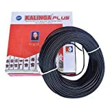 kalinga plus _1.5 mmInsulated Copper PVC Cable Wire Length: 90 meters color Black