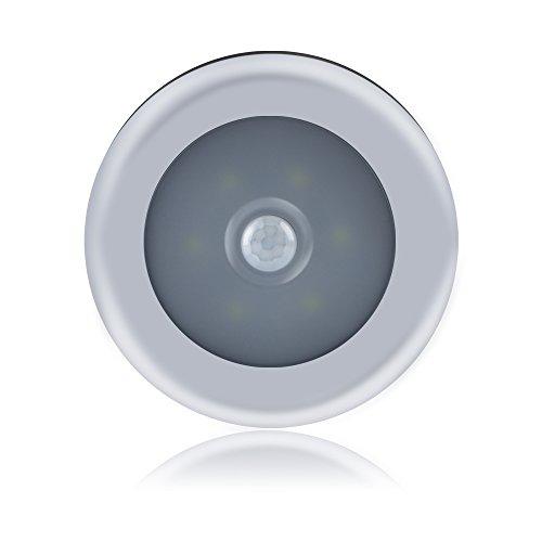 Ebilun Luz LED con sensor de movimiento para armario, armario, dormitorio, lámpara de inducción, sensor...