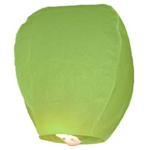 Farolillos voladores 10unidades verde Sky Lantern