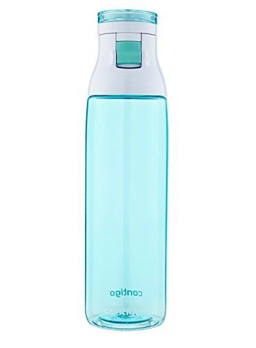 Contigo Jackson Water Bottle, 30-Ounce, Greyed Jade by Contigo (Jade Contigo)