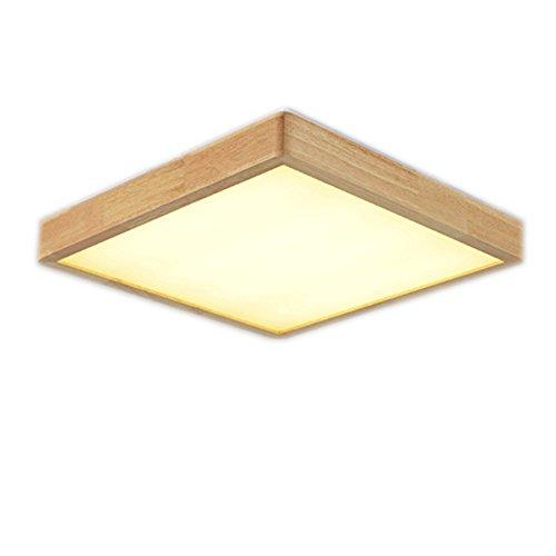 WAZTT Breve Madera Creativa Led luz de Techo eléctrica Home Deco Living Room lámpara de acrílico AC 110-240 V