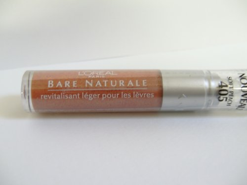 loreal-bare-naturale-gentle-lip-conditioner-n405-soft-peach-011-fluid-ounce