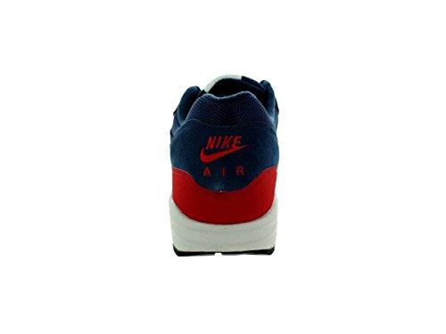 Nike - Air Max 1 Essential, Scarpe sportive da uomo Mdnght Navy/Lght Bn-Unvrsty Rd