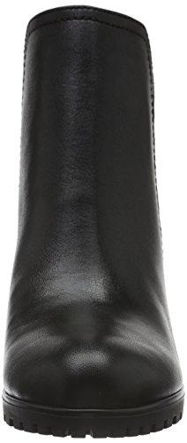 Caprice Damen 25403 Kurzschaft Stiefel Schwarz (BLK/BLK REPT. 6)