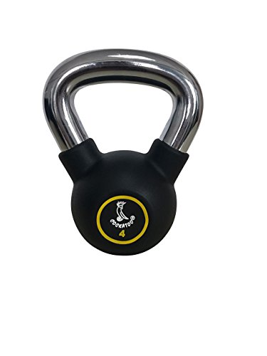 Cockatoo Imported Metal Integrated Rubber Kettlebell
