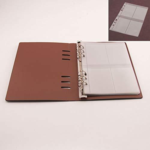 ECMQS Stanzformen Schablone Lager Buch Veranstalter Sammlung, 1 Abdeckung+10 Innenseiten 4 Raster