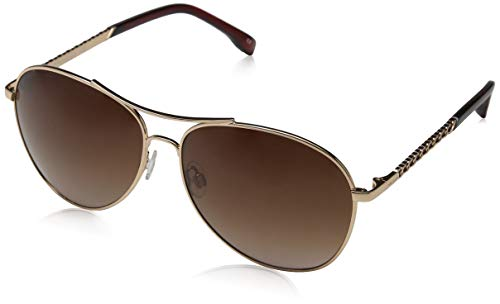 KAREN MILLEN Damen Luxe Sonnenbrille, Rose Gold, 60.0