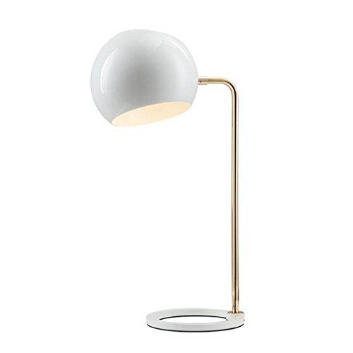 Modern, einfach, Metall, rund, Tischleuchte, Schlafzimmer, Bett, Schreibtisch, Auge Licht, Schwarz und Weiß -