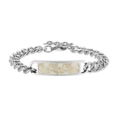 YIYIYYA Herren Armband Nachtlicht Schmuck Vergleich Schmuck Simple Atmosphäre Fashion Classic Geschenk, Golden