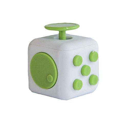 Preisvergleich Produktbild TDL Decompression Rubik's Cube Toy,  Anti-anxiety Pressure Rubik's Cube Decompression Vent Dice,  Multicolor(green)
