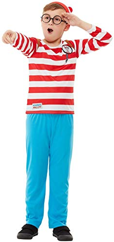 Fancy Me Jungen-Kostüm, Motiv Waldo World Buch Woche, TV-Film, Cartoon-Serie, lustiges Schulspiel-Kostüm
