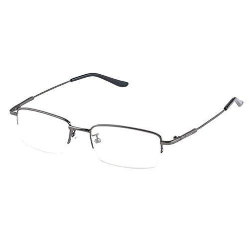 Haodasi Mens Womens Memory Alloy Half Rim Nearsighted Glasses Myopia Eyeglass -1.0~-6.0 Männer Frauen Myopie Brille Kurzsichtbrillen Nearsighted Brille