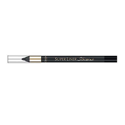 L'Oreal Super Liner Silkissme Silky & Shiny 01 Seductive Black Waterproof Eyeliner Pencil