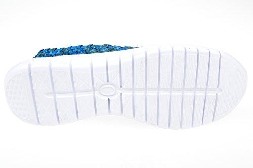 GIBRA® Herren Freizeitschuhe geflochten, blau, Gr. 41-46 Blau