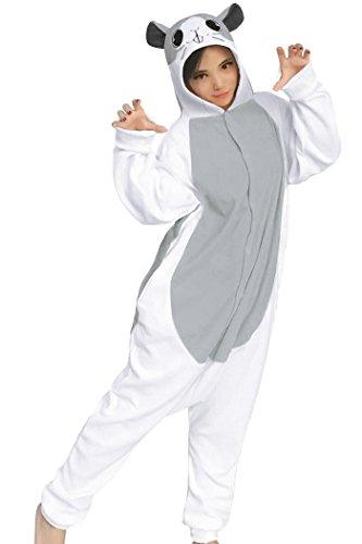 dressfan Tier Cosplay Kostüm Hamster Pyjamas Erwachsene - Kinder Hamster Pyjama Kostüm